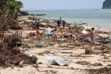 tsunami in Samoa
